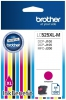 Cartridge Brother за DCP J100 J105 MFC J200 magenta LC525XLM 130