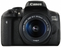 Фотоапарат CANON EOS 750D+EF-s18-55 IS STM Black | 24.2MPix CMOS