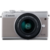 CANON EOS M100 Grey + EF-M 15-45mm 3.5-6.3 IS STM | 24.2MP CMOS