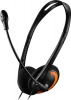 Слушалки с микрофон CANYON CNS-CHS01 1.8m black/orange