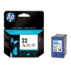 Cartridge HP DJ 1360 3920/40 1410 color 9352А No 22