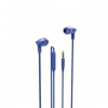 Слушалки тапи с микрофон HAMA 137441 In-Ear Headphone Blue