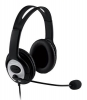 Слушалки с микрофон Microsoft LifeChat LX-3000 USB English Black